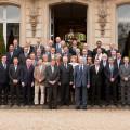 Le Président et les conseillers du Conseil général des Yvelines - Mars 2011
