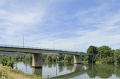 Fermeture des ponts de Bonnières-sur-Seine et Bennecourt (RD 113 et 201) © CD78
