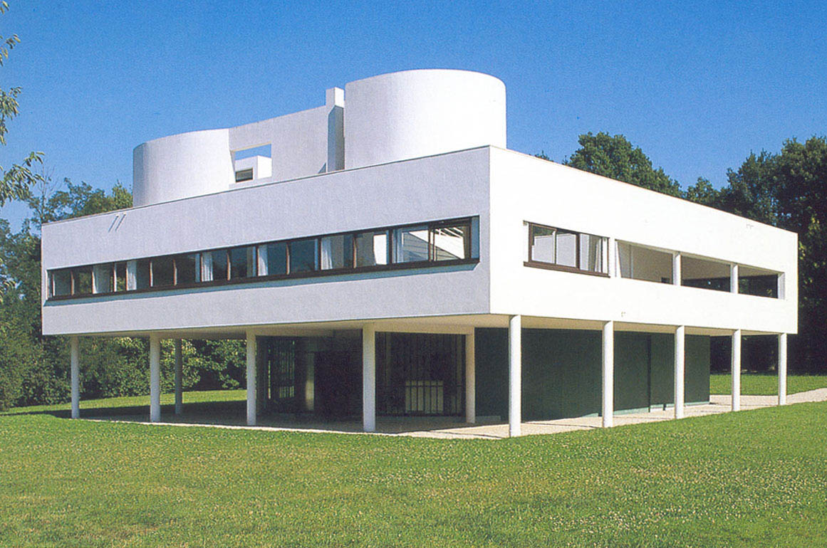 la villa savoye de le corbusier conseil d partemental des yvelines. Black Bedroom Furniture Sets. Home Design Ideas