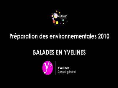 Balades en yvelines les environnementales 2010 conseil for Balades yvelines