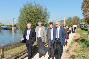 inauguration berges de Seine - Triel-sur-Seine