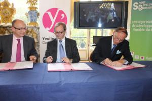 signature de la charte sport et développement durable