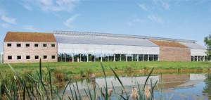 Eco-construction de la serre et des bureaux de la société Vert Déco - Magny-les-Hameaux