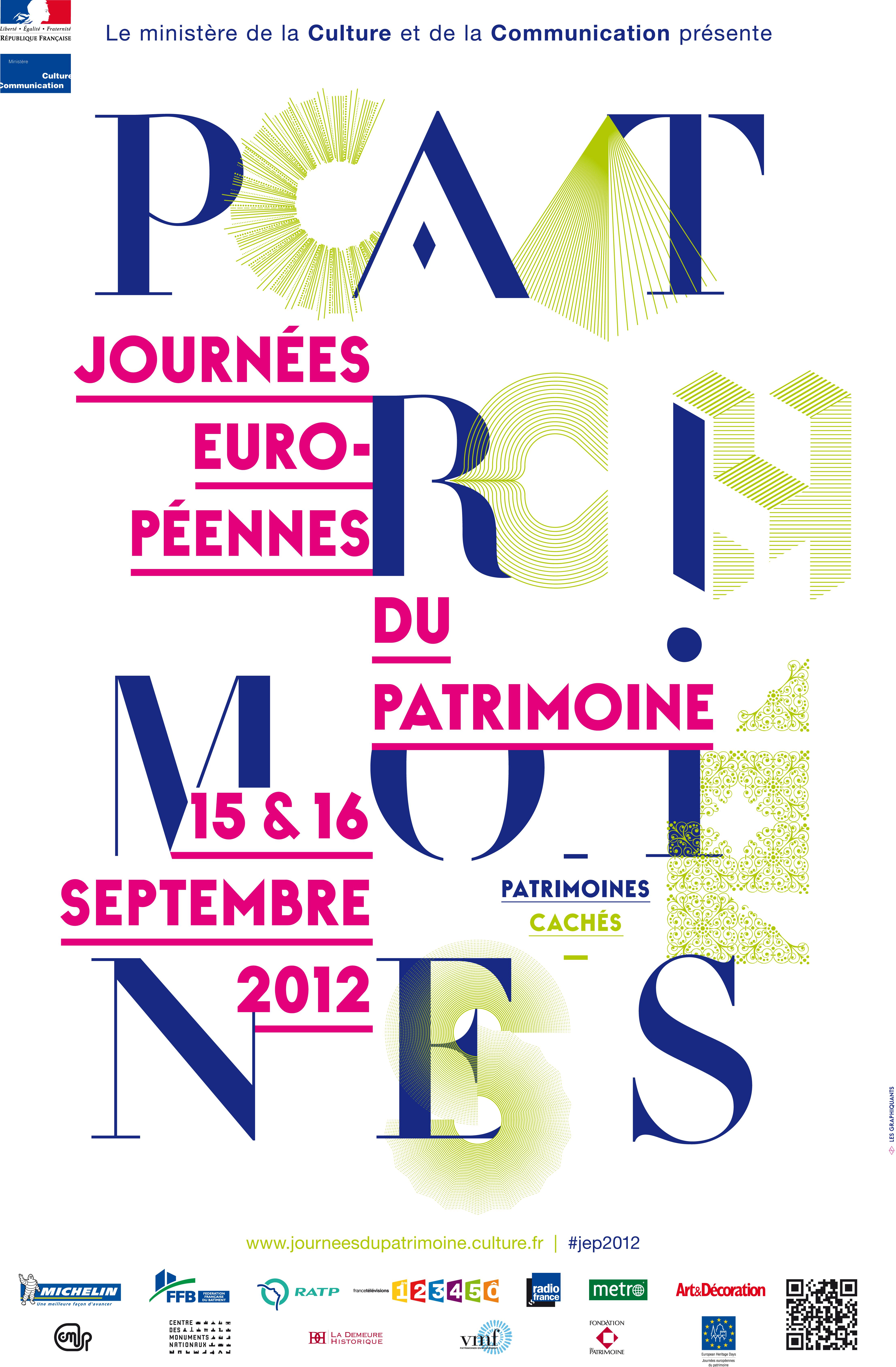 Journ es europ ennes du patrimoine 2012 conseil for Animation yvelines