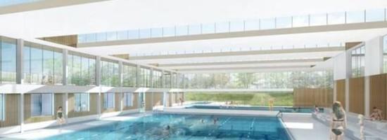 La nouvelle piscine en construction yvelines infos for Piscine houilles