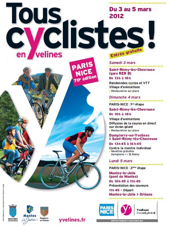 ... en Yvelines pour le Paris-Nice 2012 | Conseil général des Yvelines