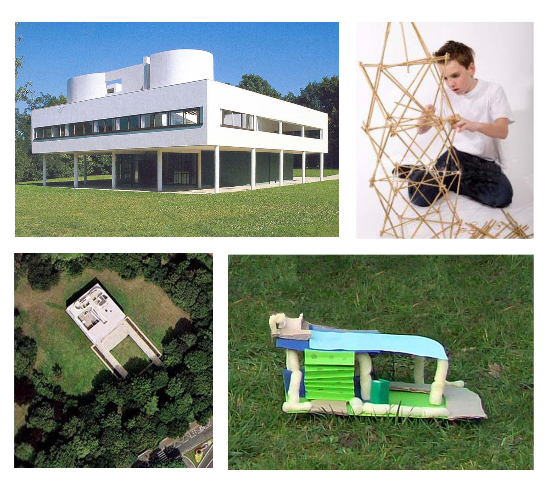 Connu La Villa Savoye Materiaux | Dudew.com VI67