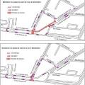 modifications de circulation avenue de l'Europe au niveau du carrefour Grange Dame Rose