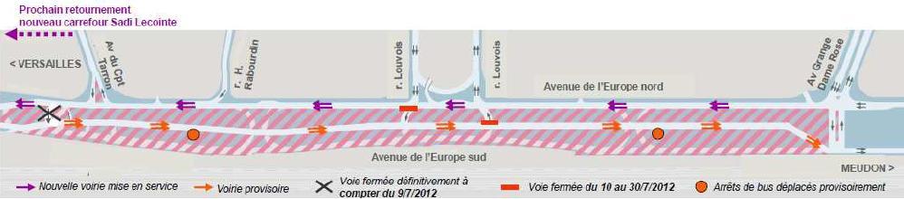 travaux tram t6 am nagement de l avenue de l europe sud v lizy villacoublay conseil. Black Bedroom Furniture Sets. Home Design Ideas