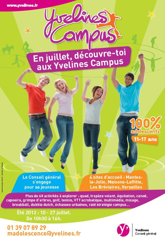 Yvelines campus le conseil g n ral fait bouger les for Animation yvelines