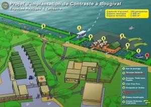 Plan du Nautik Parc