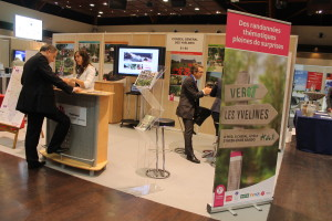 Yvelines Tourisme - stand UMY
