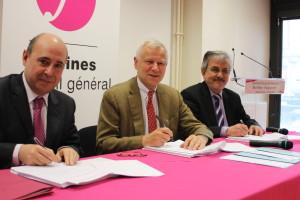 Signature du contrat social de territoire - Buchelay - Magnanville