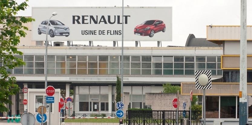 Usine Renault Flins
