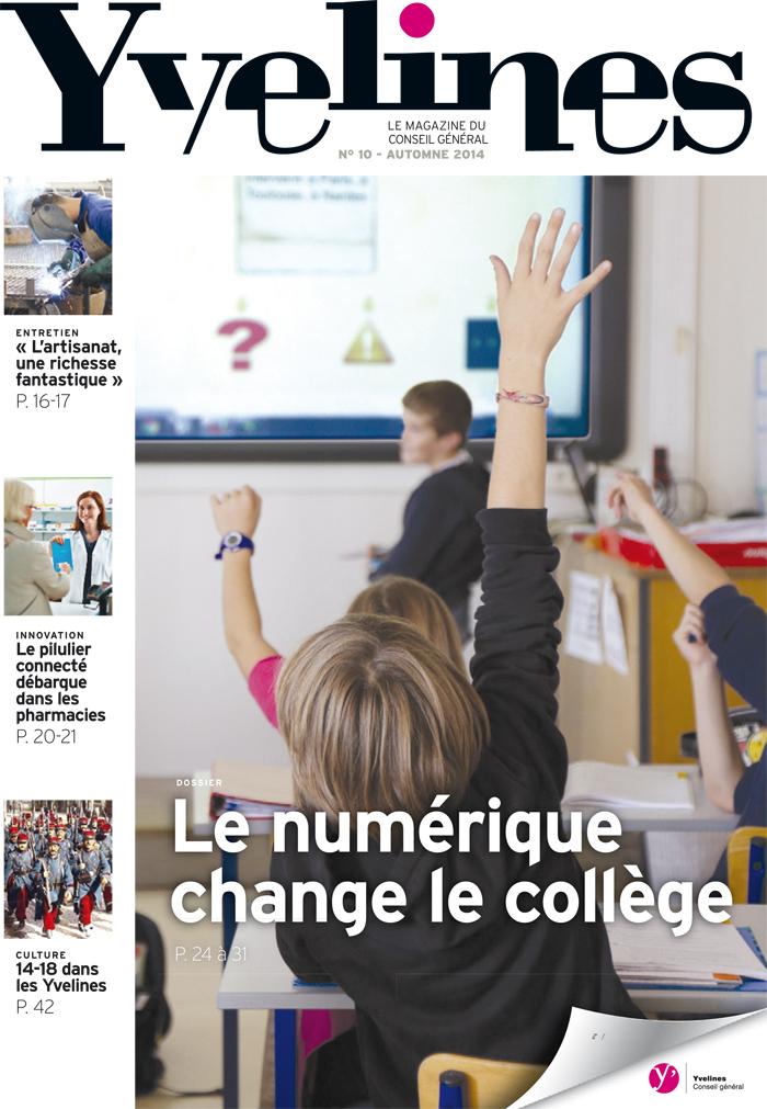 Le magazine « Yvelines » arrive dans vos boîtes aux lettres - Culture.Yvelines.fr