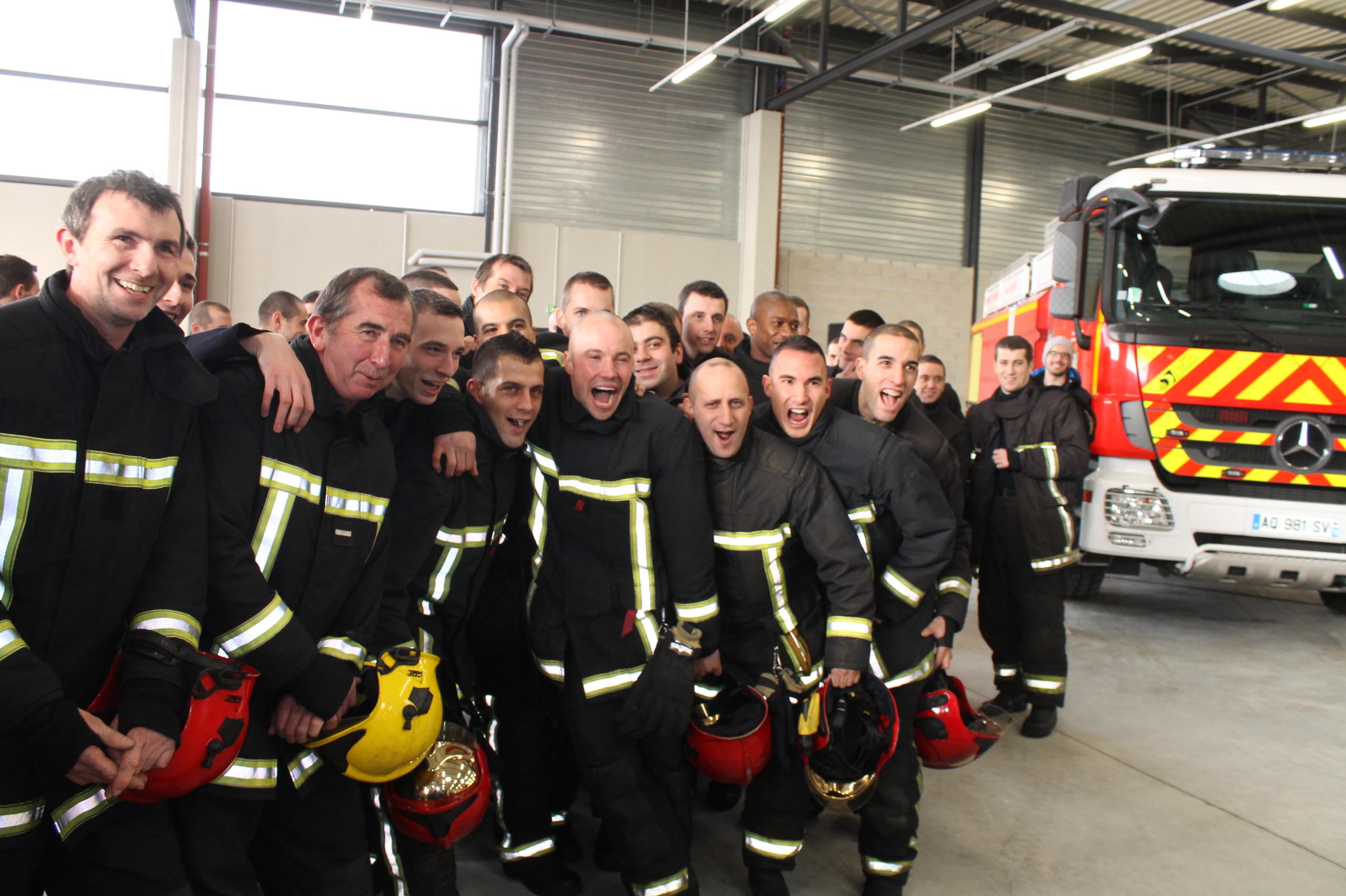 Chanteloup la nouvelle caserne de pompiers inaugur e for Sorties yvelines 78