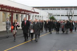 Inauguration collège Paul-Bert
