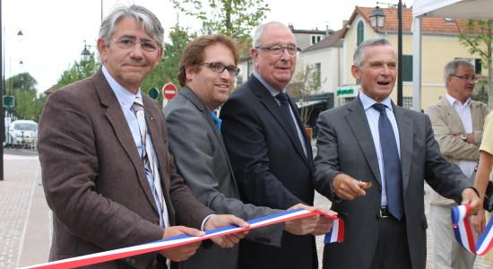 Inauguration du boulevard Noël Marc à Andrésy