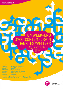 Du 13 au 15 juin le week end de l 39 art contemporain for Week end yvelines