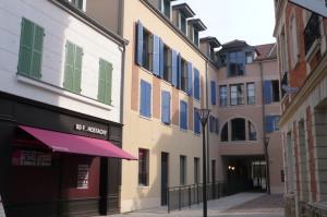 L'ilot Hostachy à Croissy-sur-Seine