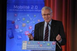 Alain Schmitz, Président du Conseil général.