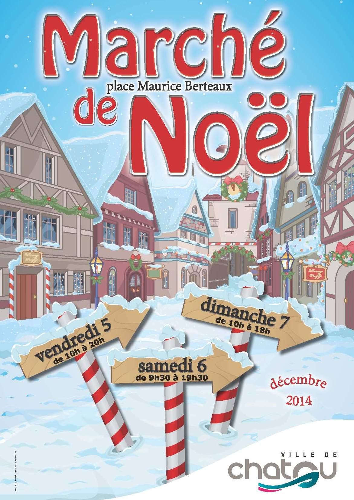 marché de noel 2018 yvelines Marché de Noël de Chatou   Conseil départemental des Yvelines marché de noel 2018 yvelines