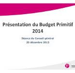 presentation budget 2014