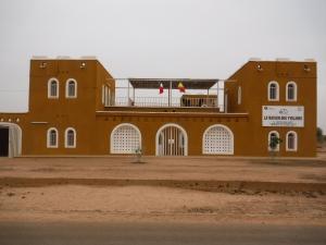 Le siège de la Maison des Yvelines à Ourossogui (Sénégal)