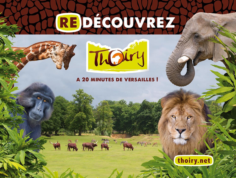 Une navette pour d couvrir le zoo de thoiry yvelines infos for Parc yvelines visiter