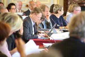 Assemblée départementale - Ghislain Fournier
