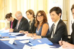 Marie-Célie Guillaume PDG de la SEM patrimoniale Satory