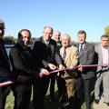 Inaugurations à Vaux-sur-Seine