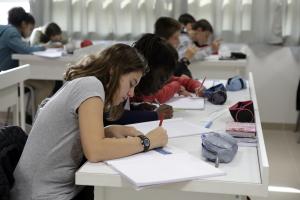 Les élèves du collèges d'Achères