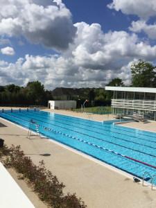 Maisons laffitte a inaugur sa nouvelle piscine yvelines for Piscine 50 metres