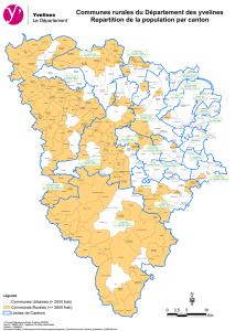 Cliquez sur la carte pour l'agrandir ou téléchargez la carte des communes rurales