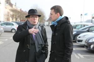 Pierre Bédier et Laurent Brosse à Conflans-Sainte-Honorine