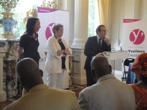 Pierre Bédier avec Jospéhine Kollmannsberger et Cécile Dumoulin