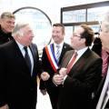 Pierre Bédier (à dr.) aux côtés de Gérard Larcher, David Douillet et Karl Olive.