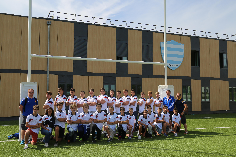 30 jeunes yvelinois en visite au racing 92 yvelines infos for Yvelines visite