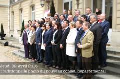 nouveau conseil départemental