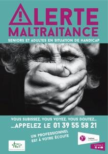 Affiche maltraitance PAPH