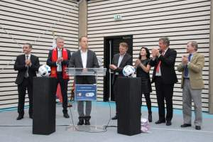 Inauguration complexe sportif Croissy