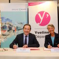 Signature de la convention de collaboration RATP- CD 78 - 1