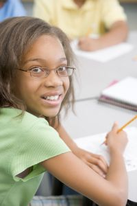 Elementary school pupil