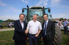 Pierre Bédier, Christophe Hillairet et Patrick Devedjian. Photo : CD78/N.Duprey